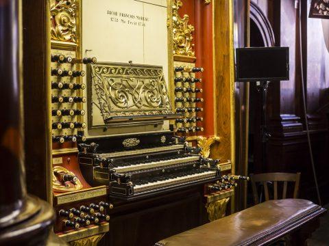 Speeltafel Moreau orgel Gouda