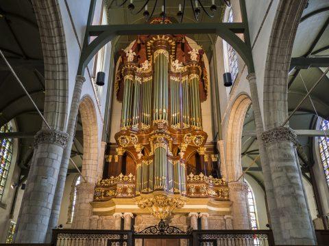 Sint Jan Gouda - Moreau orgel